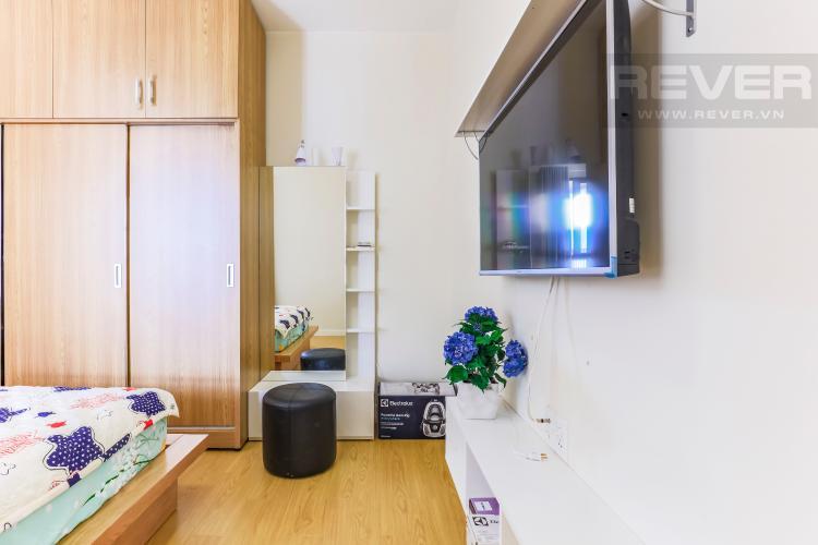 Nội thất phòng ngủ Căn hộ Masteri Thảo Điền tầng thấp T1B hướng Tây Bắc 1 phòng ngủ