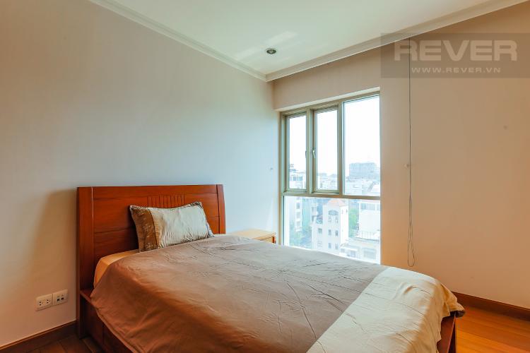 Phòng Ngủ 2 Căn hộ Saigon Pavillon 2 phòng ngủ tầng thấp đầy đủ tiện nghi