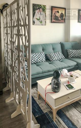 Phòng Khách Bán hoặc cho thuê căn hộ M-One Nam Sài Gòn 2 phòng ngủ, đầy đủ nội thất