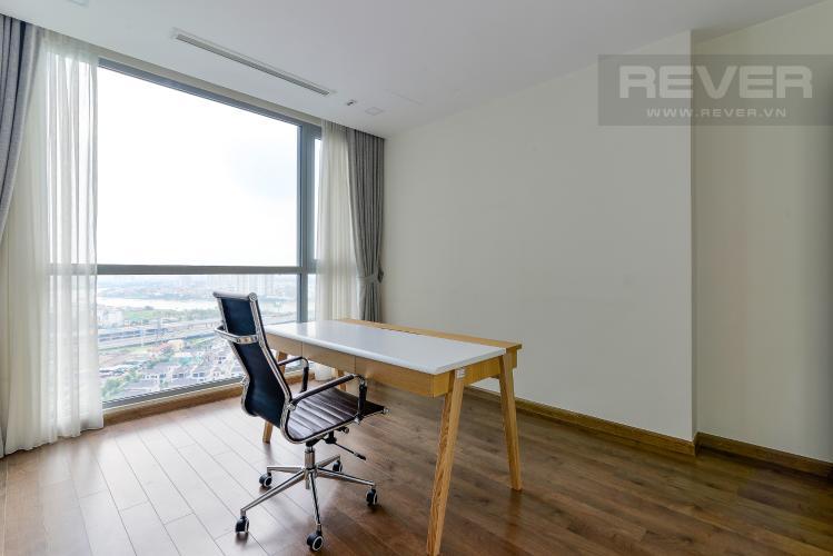 Phòng Làm Việc Cho thuê căn hộ Vinhomes Central Park 4PN, đầy đủ nội thất, view trực diện sông Sài Gòn