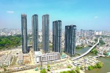 Cập nhật tiến độ dự án Vinhomes Golden River tháng 4/2018