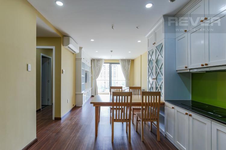 Phòng Bếp Căn hộ The Gold View tầng thấp tháp A 2 phòng ngủ view sông