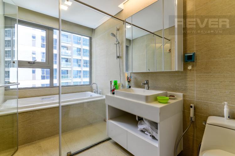 Phòng Tắm 1 Bán căn hộ Vinhomes Central Park 2PN, tháp Park 4, đầy đủ nội thất, view hồ bơi nội khu