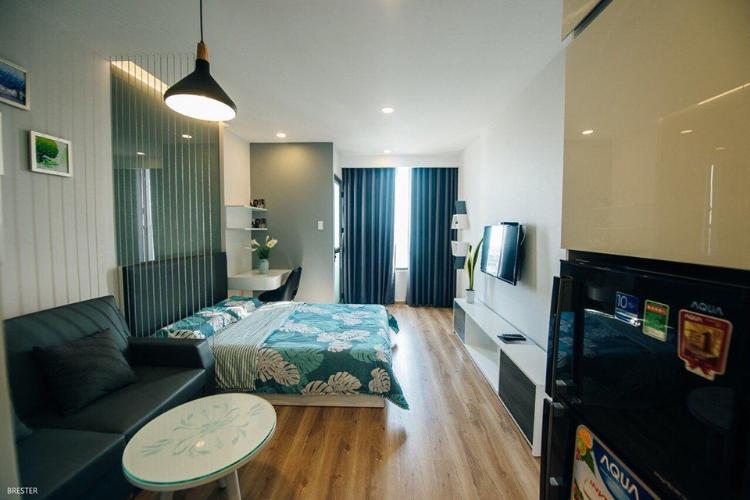 Cho thuê căn hộ 1 phòng ngủ RiverGate Residence, tháp B, diện tích 26m2, đầy đủ nội thất