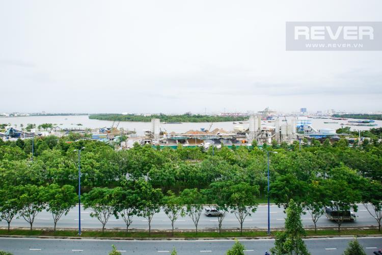 View Căn hộ New City Thủ Thiêm 2 phòng ngủ tầng thấp BA hướng Đông Nam