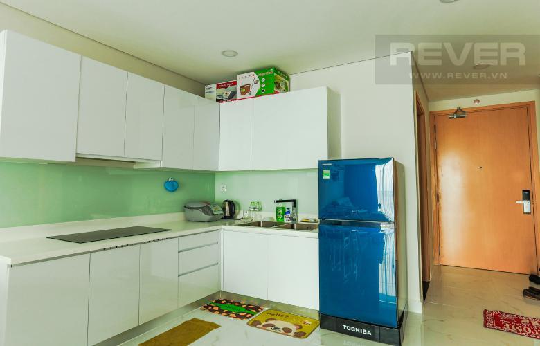 Phòng Bếp Căn hộ An gia Skyline tầng cao, 2 phòng ngủ, full nội thất