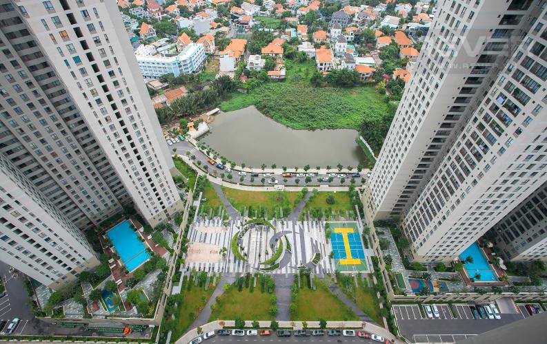 View Căn hộ Masteri Thảo Điền 3 phòng ngủ tầng cao T5 nhà trống