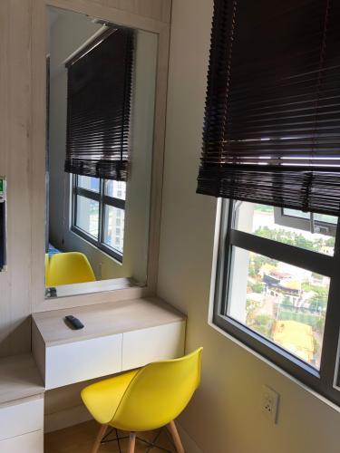Phòng ngủ Masteri Thảo Điền Quận 2 Căn hộ Masteri Thảo Điền tầng cao, view sông thơ mộng.