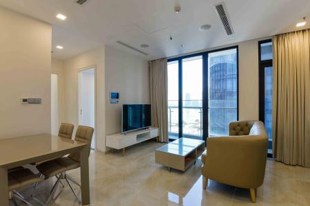 Cho thuê căn hộ Vinhomes Golden River 65m2 2PN 2WC, nội thất cao cấp, view sông