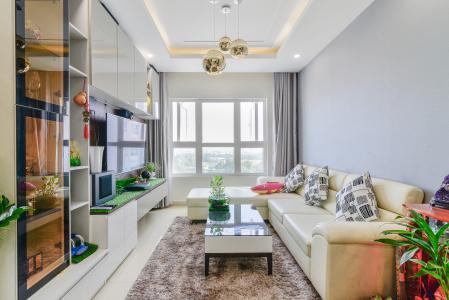 Căn hộ SaigonRes Plaza 2 phòng ngủ tầng thấp block A