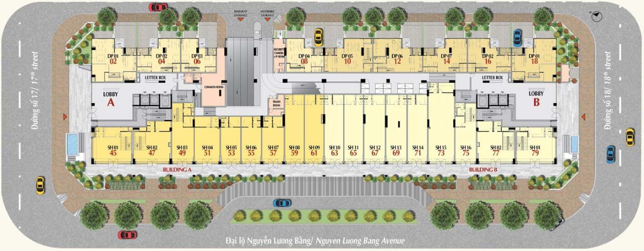 Tầng trệt Bán căn hộ The Ascentia với tiện ích đa dạng, thiết kế hiện đại.