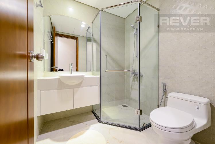 phòng tắm 2 Căn góc Vinhomes Central Park tầng cao C1 view trực diện sông