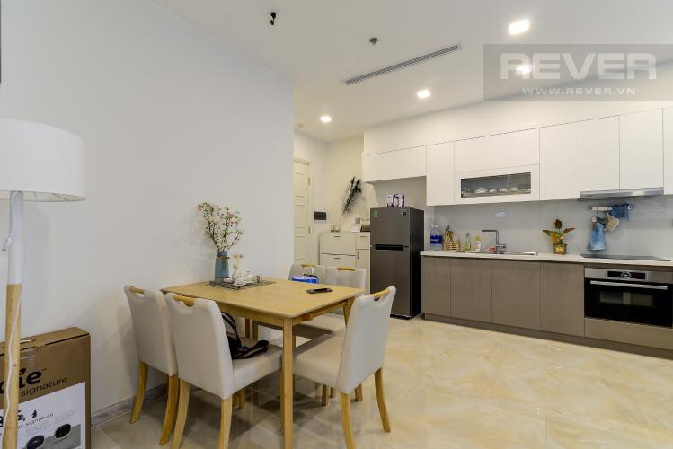 Phòng Ăn Bán căn hộ Vinhomes Golden River 1PN tầng cao, đầy đủ nội thất, view sông thoáng mát