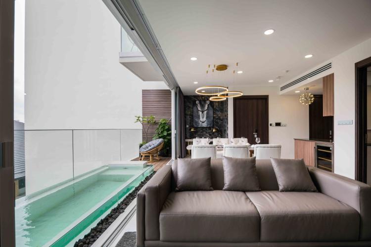 Cho thuê căn hộ duplex Serenity Sky Villas 2PN, tầng trung, diện tích 123m2, đầy đủ nội thất