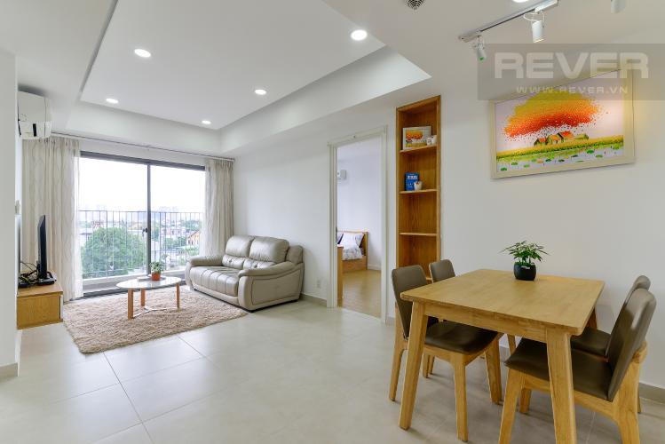 Phòng Khách Bán căn hộ Masteri Thảo Điền 2PN, tháp T3, đầy đủ nội thất, view cây xanh mát mẻ