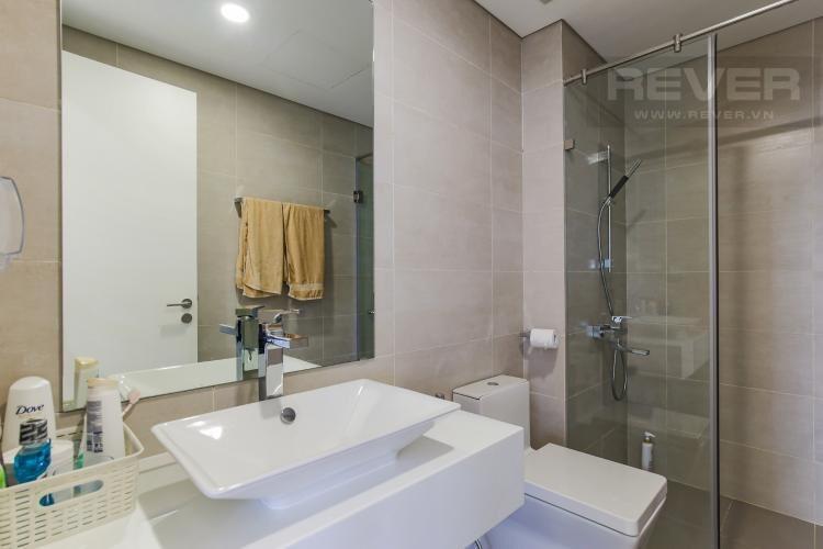 Toilet Masteri Millennium Quận 4 Căn hộ Masteri Millennium tầng 7, đầy đủ nội thất.