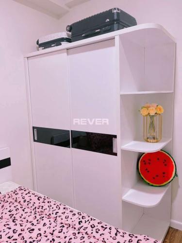 Phòng ngủ căn hộ Mizuki Park Căn hộ Mizuki Park hướng Nam nội thất cơ bản, thiết kế hiện đại.