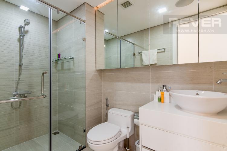 Phòng tắm Căn hộ Vinhomes Central Park 1 phòng ngủ tầng thấp P6 hướng Đông Bắc