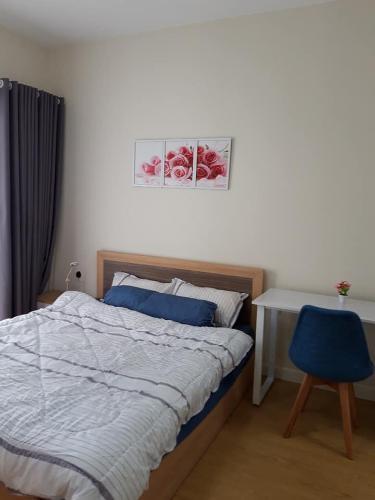 PHÒNG NGỦ căn hộ Masteri Thảo Điền Căn hộ tầng 22 Masteri Thảo Điền, nội thất đầy đủ