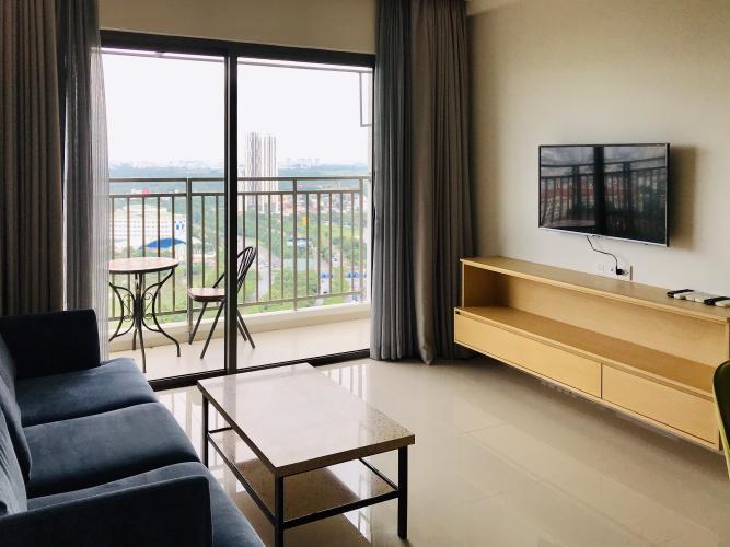Cho thuê căn hộ view thành phố - The Sun Avenue tầng trung, diện tích 90.7m2, đầy đủ nội thất.