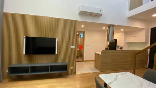 Căn hộ Feliz En Vista tầng trung, view nội khu, đầy đủ nội thất.