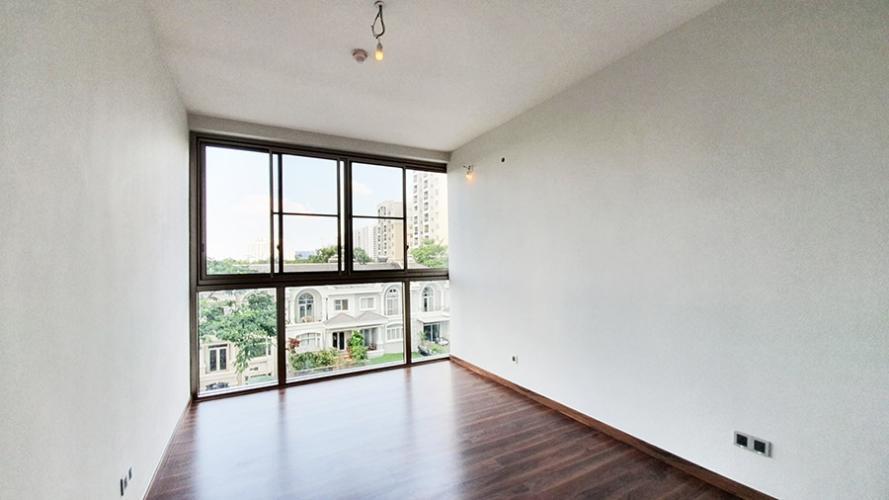 Phòng ngủ Phú Mỹ Hưng Midtown Căn hộ Phú Mỹ Hưng Midtown nội thất cơ bản, thiết kế gam màu trắng.