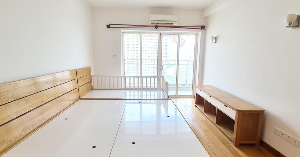 Phòng ngủ căn hộ River Garden, Bán căn hộ số 3 tầng cao dự án River Garden, nội thất cơ bản