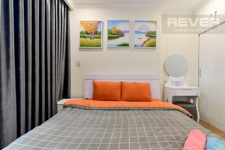 Phòng Ngủ Bán căn hộ Vinhomes Central Park 1PN, tầng trung, diện tích 50m2, đầy đủ nội thất
