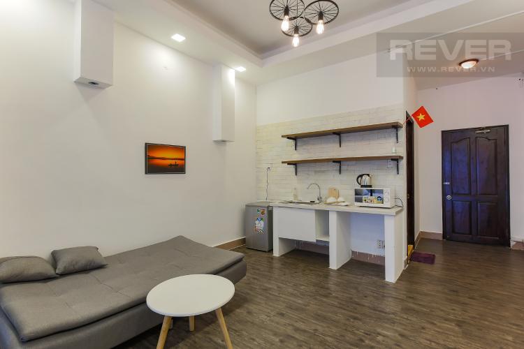 Phòng Bếp Căn hộ dịch vụ Đường Mai Thị Lựu 1 phòng ngủ nội thất đầy đủ