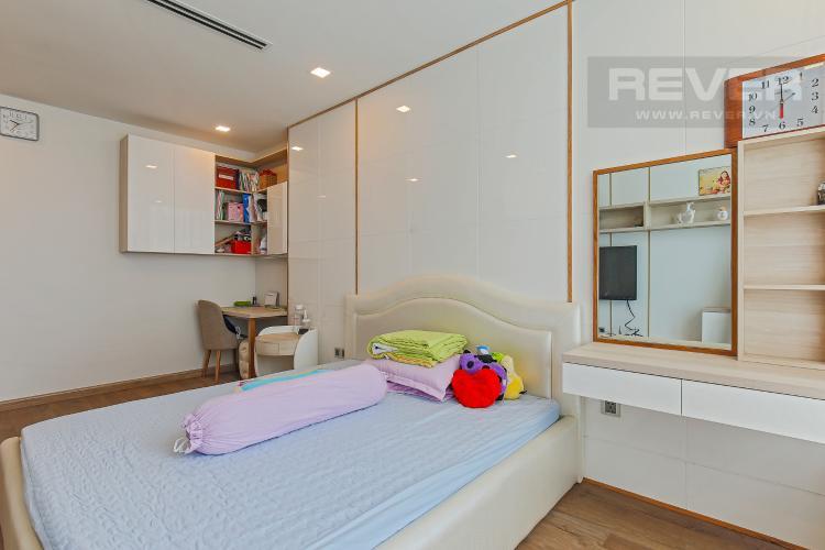 Phòng Ngủ 3 Bán căn hộ Vinhomes Central Park tầng trung tháp Park 1, 4PN 3WC, đầy đủ nội thất, view sông Sài Gòn