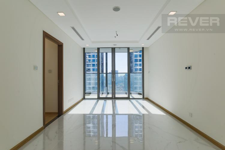 Phòng Khách Căn hộ Vinhomes Central Park tầng cao, tháp Landmark 81, 2PN 2WC