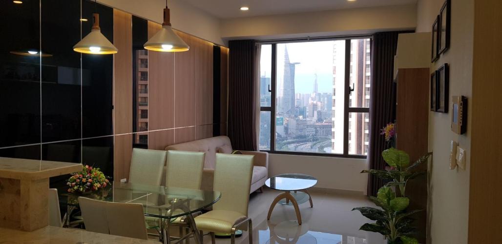Bán căn hộ RiverGate Residence 2PN, diện tích 73m2, đầy đủ nội thất, view kênh Bến Nghé và Bitexco