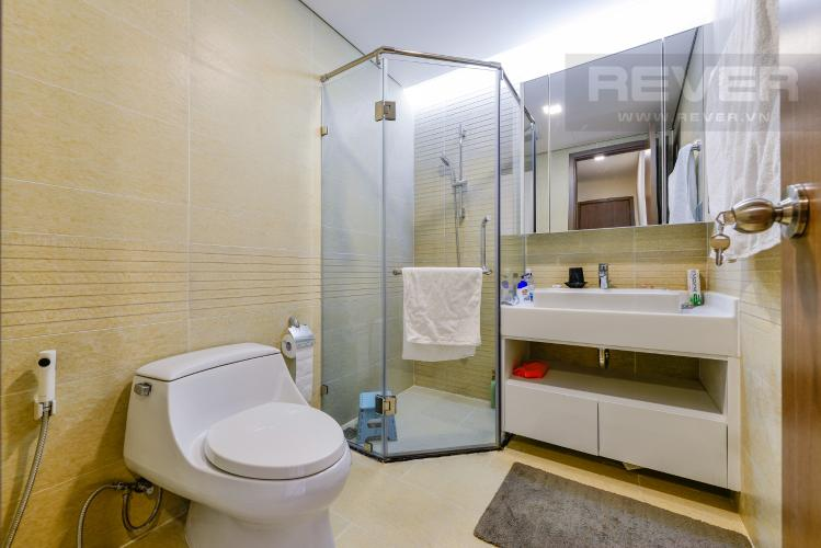 Phòng tắm 1 Căn hộ Vinhomes Central Park 2PN nội thất đầy đủ, có thể dọn vào ở ngay