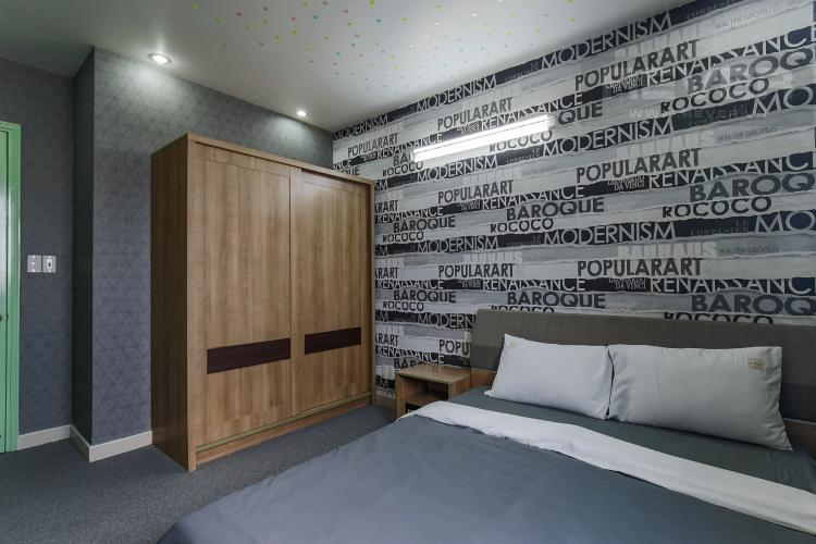 Phòng Ngủ 2 Cho thuê chung cư H2 Hoàng Diệu 2PN, diện tích 87m2, đầy đủ nội thất, view cảnh thành phố