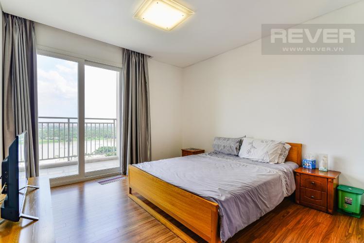 Phòng Ngủ 2 Cho thuê căn hộ Xi Riverview Palace tầng cao, 3PN, đầy đủ nội thất, view sông