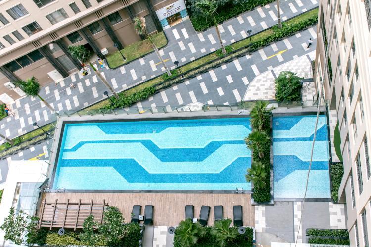 View Bán căn hộ Saigon Royal 1PN, tháp A, không có nội thất, view hồ bơi