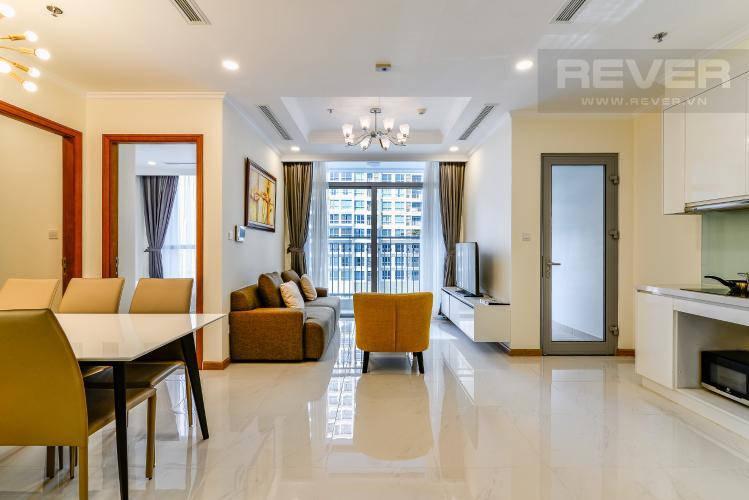 Phòng Khách Bán căn hộ Vinhomes Central Park 2PN, đầy đủ nội thất, có thể dọn vào ở ngay
