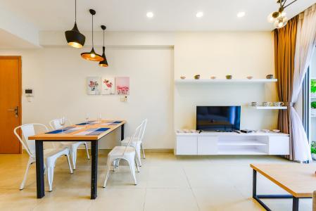Cho thuê căn hộ Masteri Thảo Điền tầng cao, 2PN đầy đủ nội thất