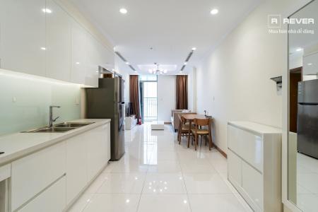 Cho Thuê căn hộ Vinhomes Central Park 1PN, đầy đủ nội thất, ban công Đông Bắc