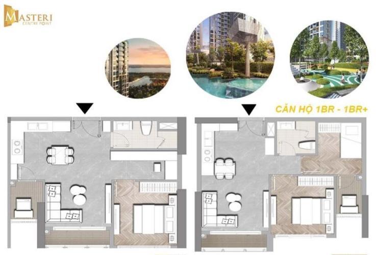 Căn hộ Masteri Centre Point tầng 5 view thoáng mát, thiết kế sang trọng.
