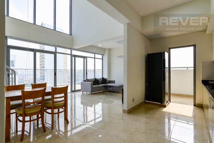 Phòng Khách Căn duplex Lux Garden 3PN, nội thất đầy đủ