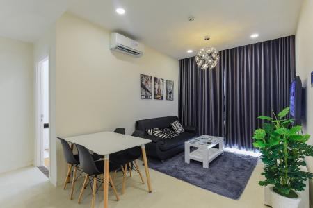 Cho thuê căn hộ Masteri Millennium tầng cao, 2PN nội thất đầy đủ, có thể dọn vào ở ngay