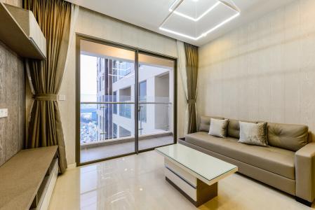 Cho thuê căn hộ Masteri Millennium tầng cao 2PN view sông