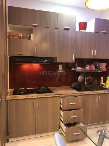 Phòng bếp căn hộ Tecco Green Nest, Quận 12 Căn hộ Tecco Green Nest tầng trung, đầy đủ nội thất cao cấp tiện nghi.