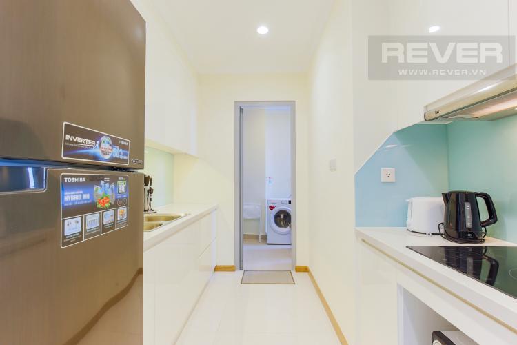 Phòng Bếp Căn hộ Vinhomes Central Park tầng cao L2 nội thất đẹp, tiện nghi