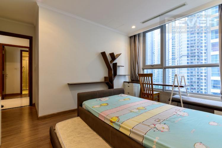 Phòng Ngủ 1 Bán căn hộ Vinhomes Central Park 4PN, tháp The Central 2, đầy đủ nội thất, view hồ bơi