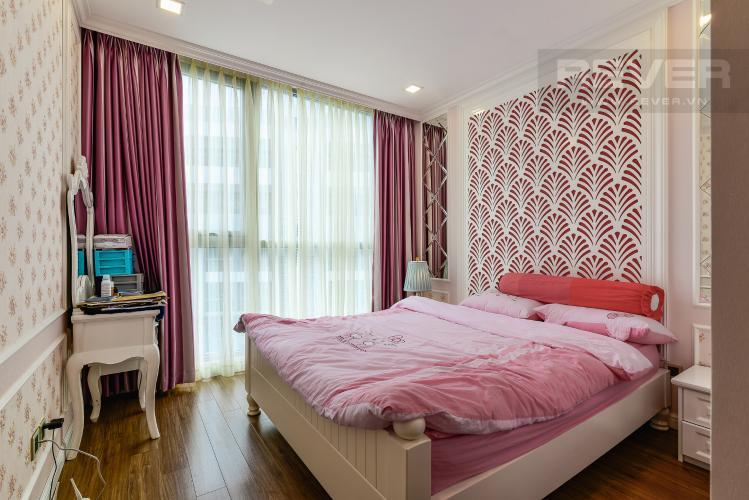 Phòng Ngủ 2 Căn hộ Vinhomes Central Park tầng cao, tháp Park 7, 2PN, nội thất đầy đủ