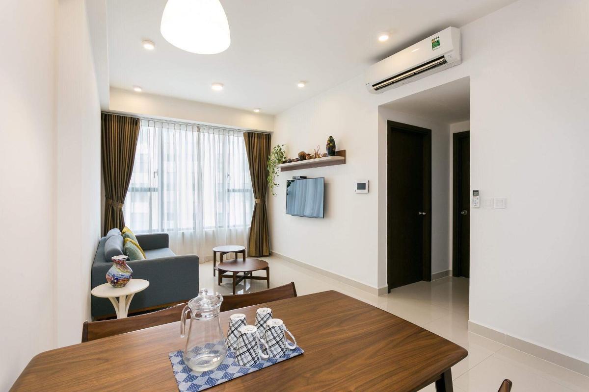 3c768011727a9424cd6b Cho thuê căn hộ The Tresor 2 phòng ngủ, tháp TS1, đầy đủ nội thất, view sông Sài Gòn