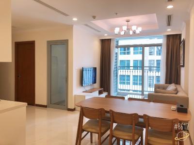 Cho thuê căn hộ Vinhomes Central Park 2PN, tháp Landmark 5, diện tích 79m2, đầy đủ nội thất