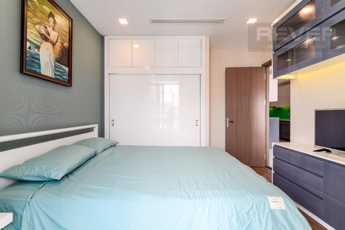 _DSC3962 Bán căn hộ Vinhomes Central Park 1PN, tháp Park 7, đầy đủ nội thất, view hồ bơi và mé sông